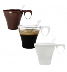 Plastiktasse Transparent PS 80ml