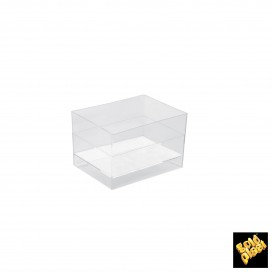 Plastikschüssel Verkostung RomboTransparent 95 ml (500 Einh.)