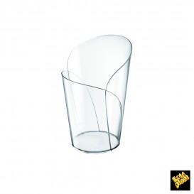"Plastikbecher ""Blossom"" Transparent 90ml (15 Einh.)"