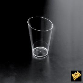 Plastikbecher Verkostung Conico Transparent 70 ml (25 Einh.)