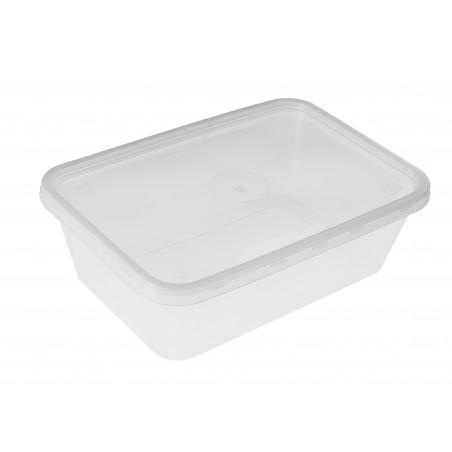 Transparente Plastikdose 750ml (500 Einheiten)