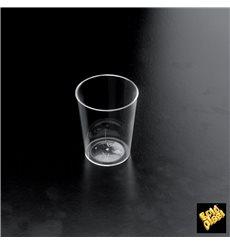 "Schnapsglas aus Plastik ""Conical"" Transparent 50 ml (25 Stück)"