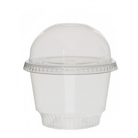 Transp. Dessert Becher für Eis PET 8oz/240ml (50 Einh.)