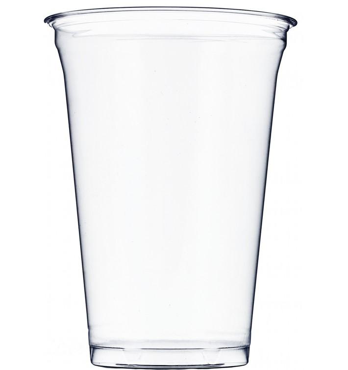 Becher PET 610 ml Groß Ø9,8cm (50 Einheiten)