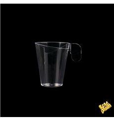 Plastiktasse Design Transparent 72ml (12 Stück)