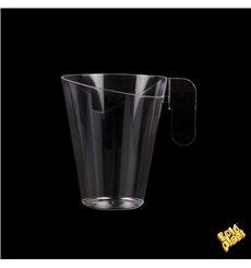 Plastiktasse Design Transparent 155ml (144 Stück)