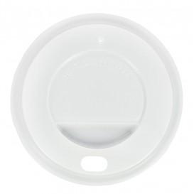 """Deckel für Becher """"Specialty"""" 12Oz/384ml weiß Ø8,5cm (100 Stück)"""