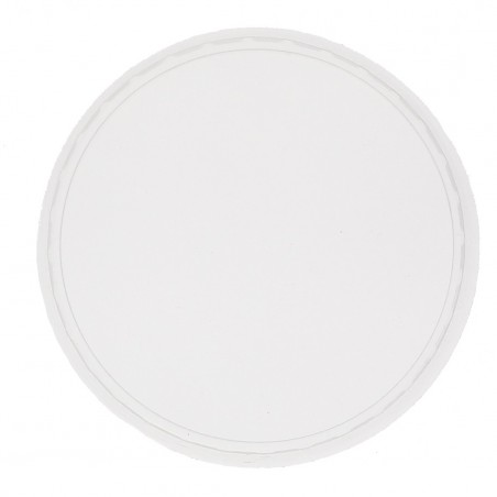 Transparent Plastikdeckel für Verpackungsbecher 125, 150, 200, 250, 300, 400 und 500ml (1.000 Stück)