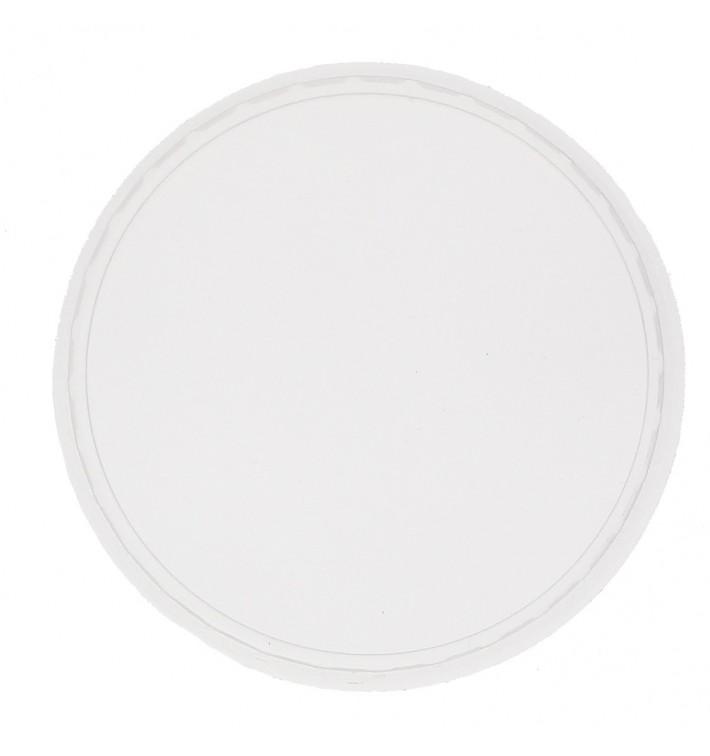 Plastikdeckel Transparent Ø10,5 125, 150, 200, 250, 300, 400 und 500ml (100 Stück)