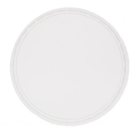 Transparent Plastikdeckel für Verpackungsbecher 125, 150, 200, 250, 300, 400 und 500ml (50 Stück)