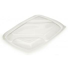 Deckel für Plastikbehälter schwarz 3G 28x20cm (50 Stück)