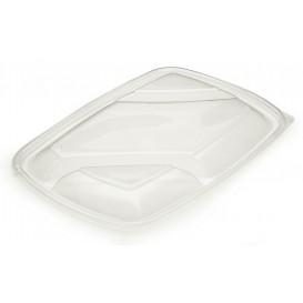 Deckel für Plastikbehälter schwarz 3G 28x20cm (150 Stück)
