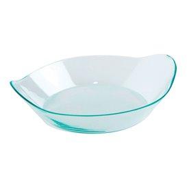 """Plastikschüssel Wellen Flach Präsentation """"Water Green"""" 36ml (50 Stück)"""