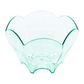 """Plastikschüssel Wellen """"Water Green"""" 6,3x4,4cm 70ml (20 Stück)"""