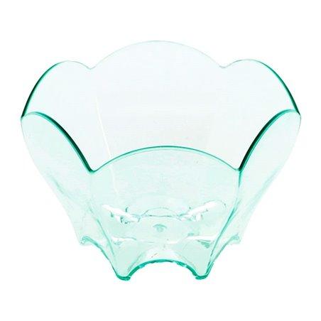 """Servierschüssel Plastik Gewellt """"Water Green"""" 70ml (20 Stück)"""