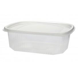 Salatschale Plastik mit Deckel 500ml (50 Stück)