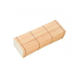 Verpackung aus Bambu für Sushi 23x8x6cm (24 Einh.)