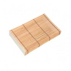 Verpackung aus Bambu für Sushi 23x13x4,5cm (24 Einh.)