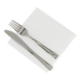 Papierservietten weiß 30x30cm 1-lagig (4.800 Stück)