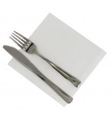 Papierservietten weiß 33x33cm 1-lagig (100 Stück)
