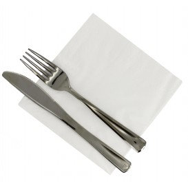 Papierservietten weiß 33x33cm 2-lagig (3.500 Stück)