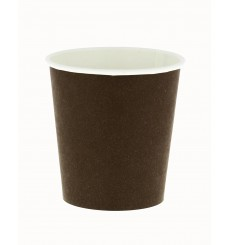 Bio Kaffeebecher To Go braun 4Oz/120ml Ø6,2cm (2000 Stück)