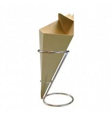 Halter aus Stahl für 1 Pommestüte Ø11,5x18cm (36 Stück)