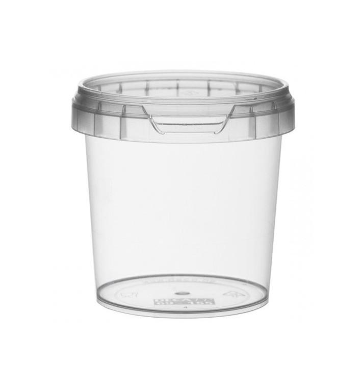 Verpackungsbecher aus Plastik rund Verschluss 155ml Ø6,9 (480 Einh.)