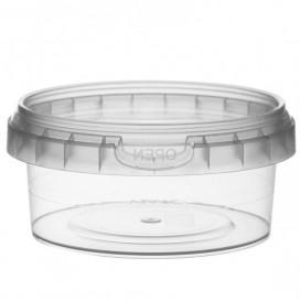 Verpackungsbecher aus Plastik rund Verschluss 180ml Ø9,5 (252 Einh.)