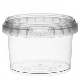 Verpackungsbecher aus Plastik rund Verschluss 280ml Ø9,5 (95 Einh.)