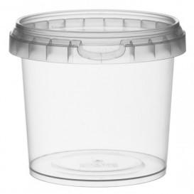 Verpackungsbecher aus Plastik rund 365ml Ø9,5 (456 Einh.)