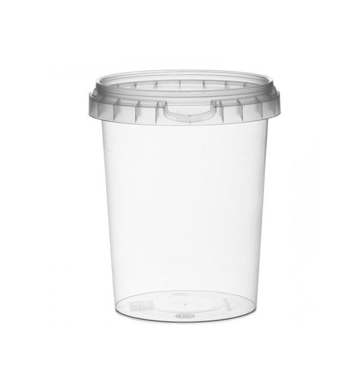 Verpackungsbecher aus Plastik rund 520ml Ø9,5 (190 Einh.)
