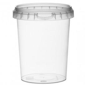Verpackungsbecher aus Plastik rund 520ml Ø9,5 (380 Einh.)