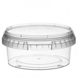 Verpackungsbecher aus Plastik rund 300ml Ø11,8 (374 Einh.)