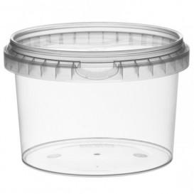 Verpackungsbecher aus Plastik rund 565ml Ø11,8 (132 Einh.)