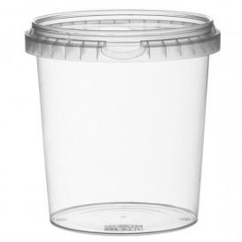 Verpackungsbecher aus Plastik rund 870ml Ø11,8 (114 Einh.)