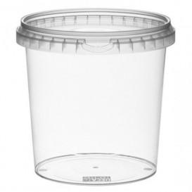 Verpackungsbecher aus Plastik rund 1180ml Ø13,3 (90 Einh.)