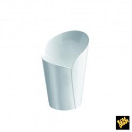 "Plastikbecher ""Blossom"" weiß 90ml (15 Stück)"