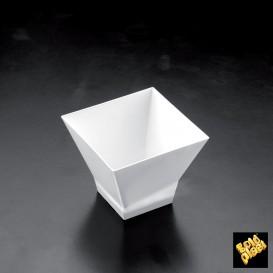 "Plastikbecher ""Pagoda"" Weiß 65ml (500 Stück)"