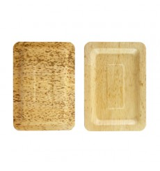 Tablett aus Bambus 20x14x1cm (10 Stück)