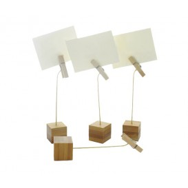 Ständer für Karten aus Bambus 130mm (144 Stück)
