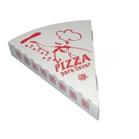 Cuña porcion pizza para llevar