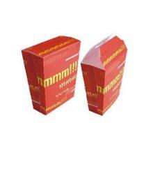 Geschlossene Pommes Box (25 Stück)