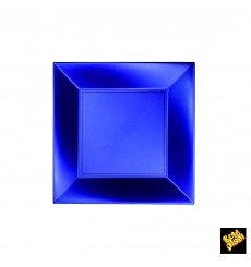 Plastikteller Flach Blau Nice Pearl PP 180mm (25 Stück)