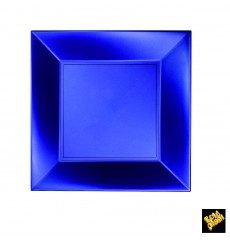 Plastikteller Flach Blau Nice Pearl PP 230mm (300 Stück)