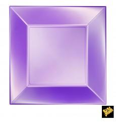 Plastikteller Flach Violett Nice Pearl PP 290mm (144 Stück)
