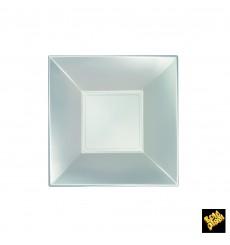 Plastikteller Tief Silber Nice Pearl PP 180mm (300 Stück)