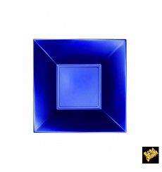 Plastikteller Tiefe Blau Nice Pearl PP 180mm (300 Stück)
