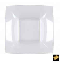 Plastikteller Tiefe Transp. Nice PS 180mm (25 Stück)