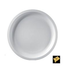 Plastikteller Rund Weiß Round PP Ø290mm (25 Stück)